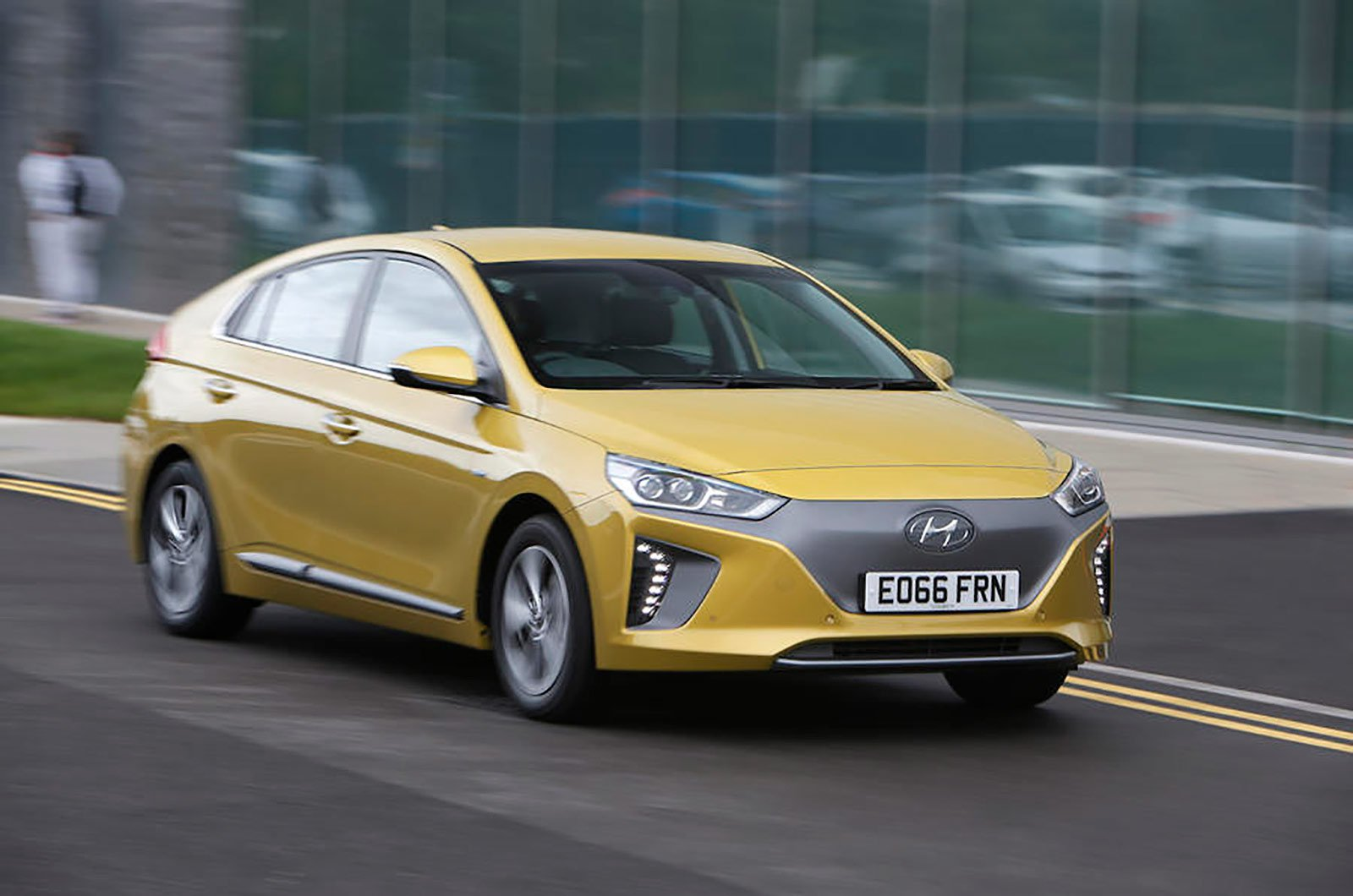 Hyundai Ioniq front and side