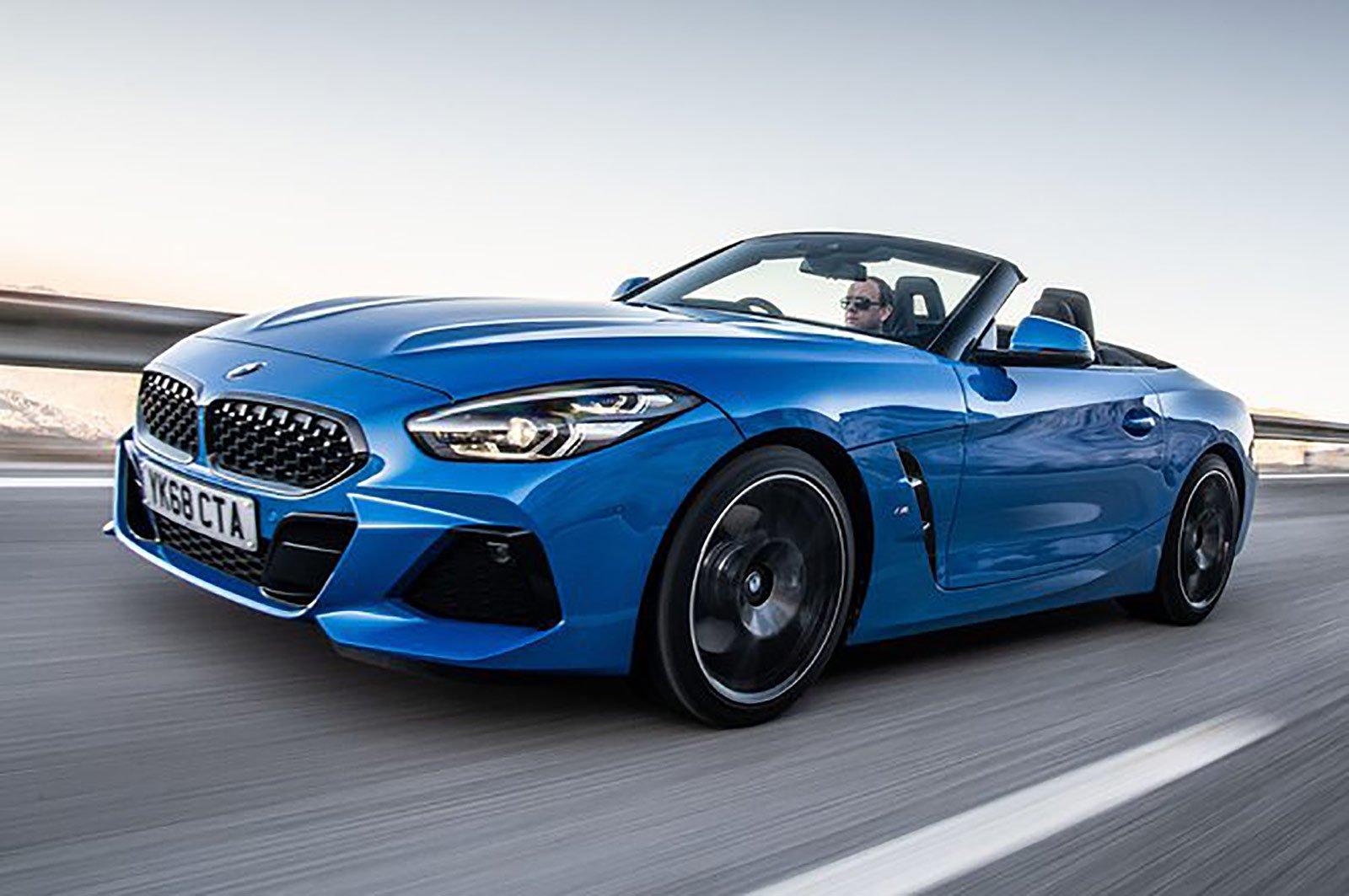 BMW Z4 front three quarters