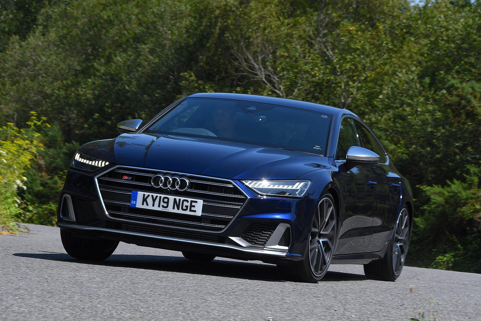 Audi S7 front