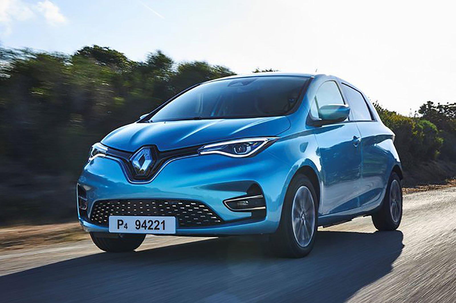 Renault Zoe front three quarters
