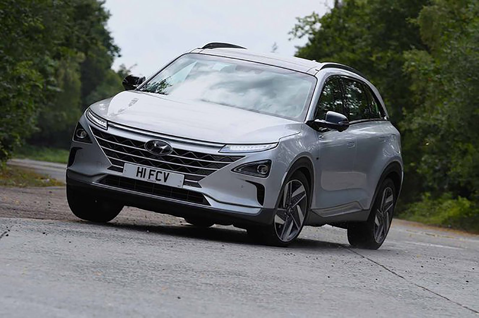 Hyundai Nexo front three quarters