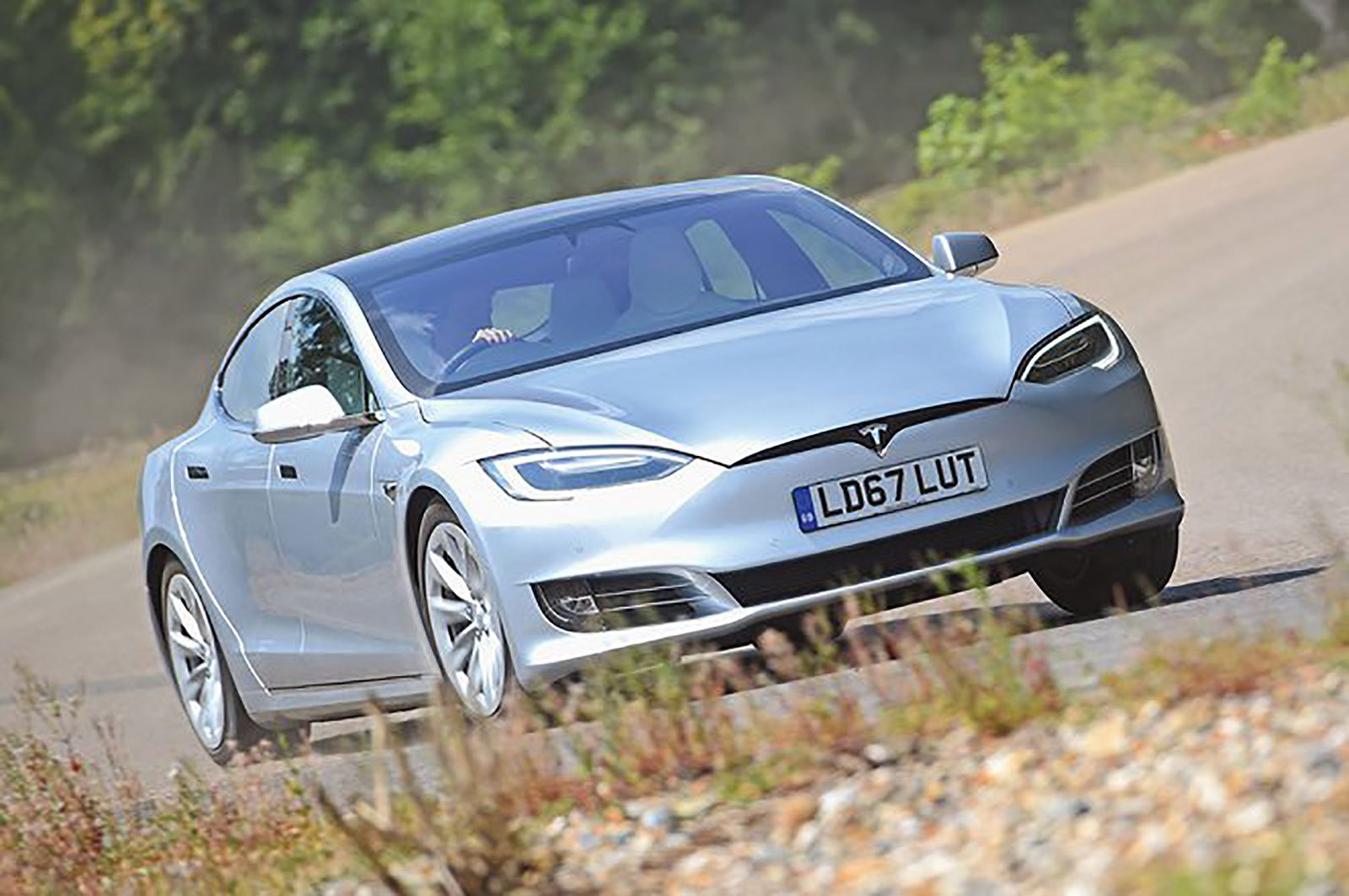 Tesla Model S Long Range front