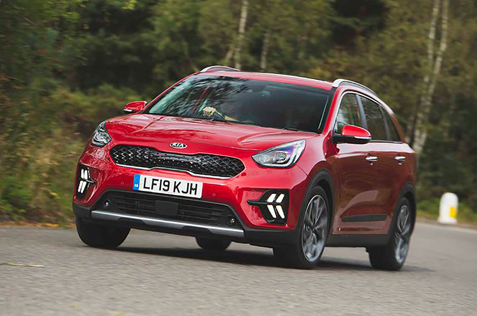 Kia Niro front three quarters