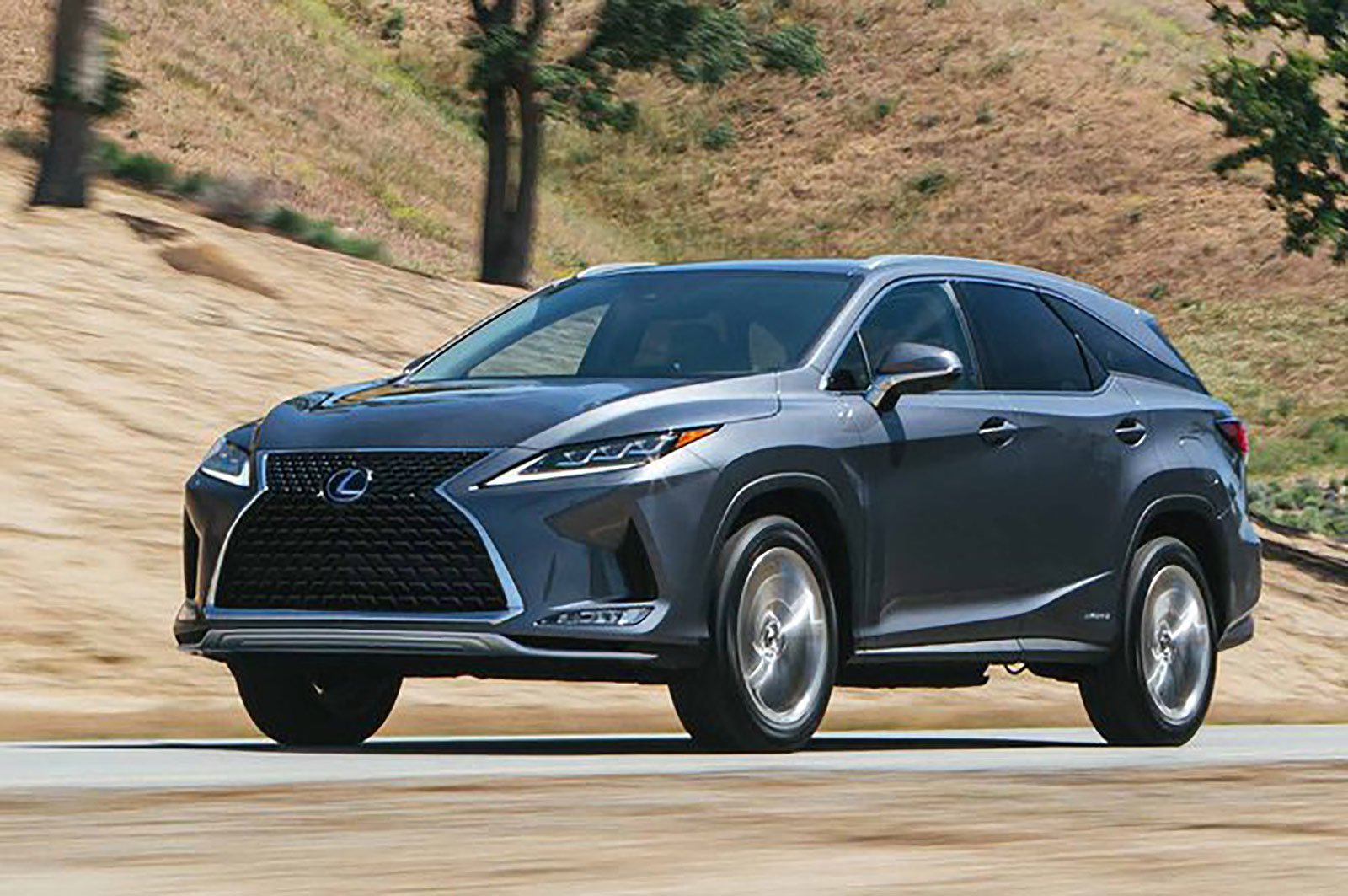 Lexus RX-L front and side