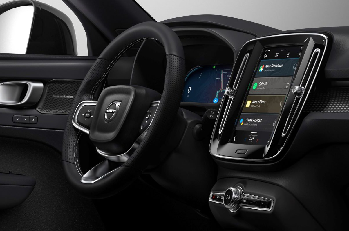 Volvo - Android Automotive OS on XC40 P8 Recharge
