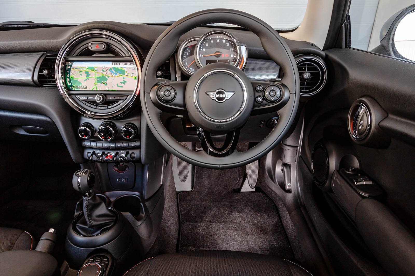 Mini 3dr - interior
