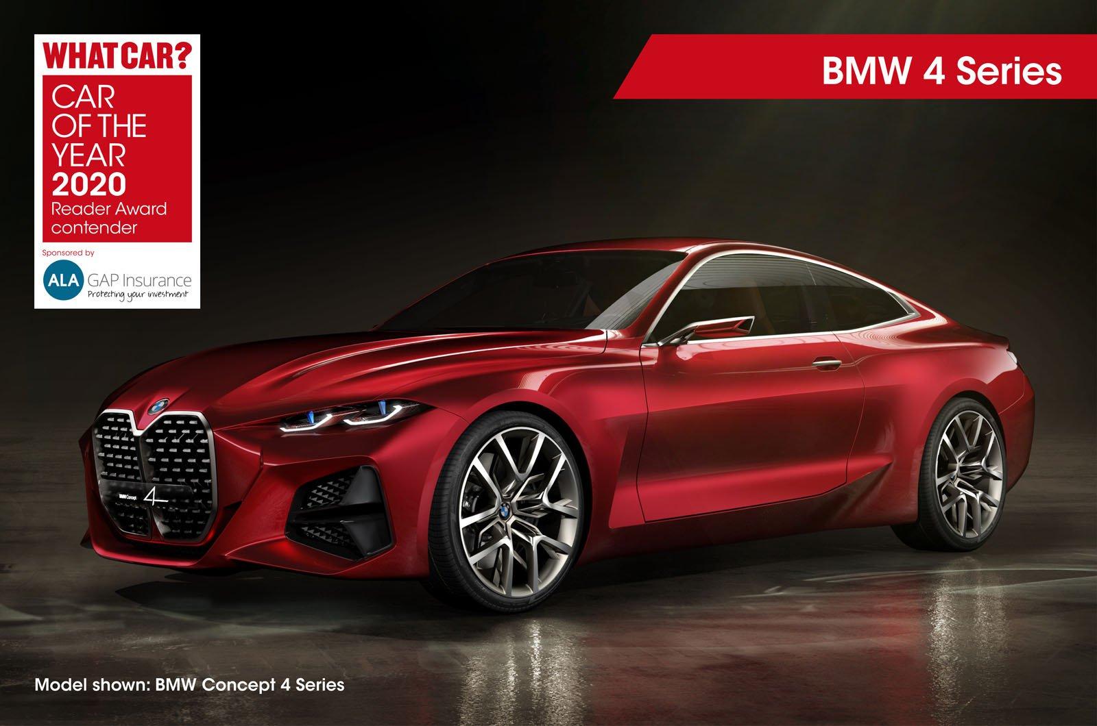 2020 COTY Reader Award contender BMW 4 Series