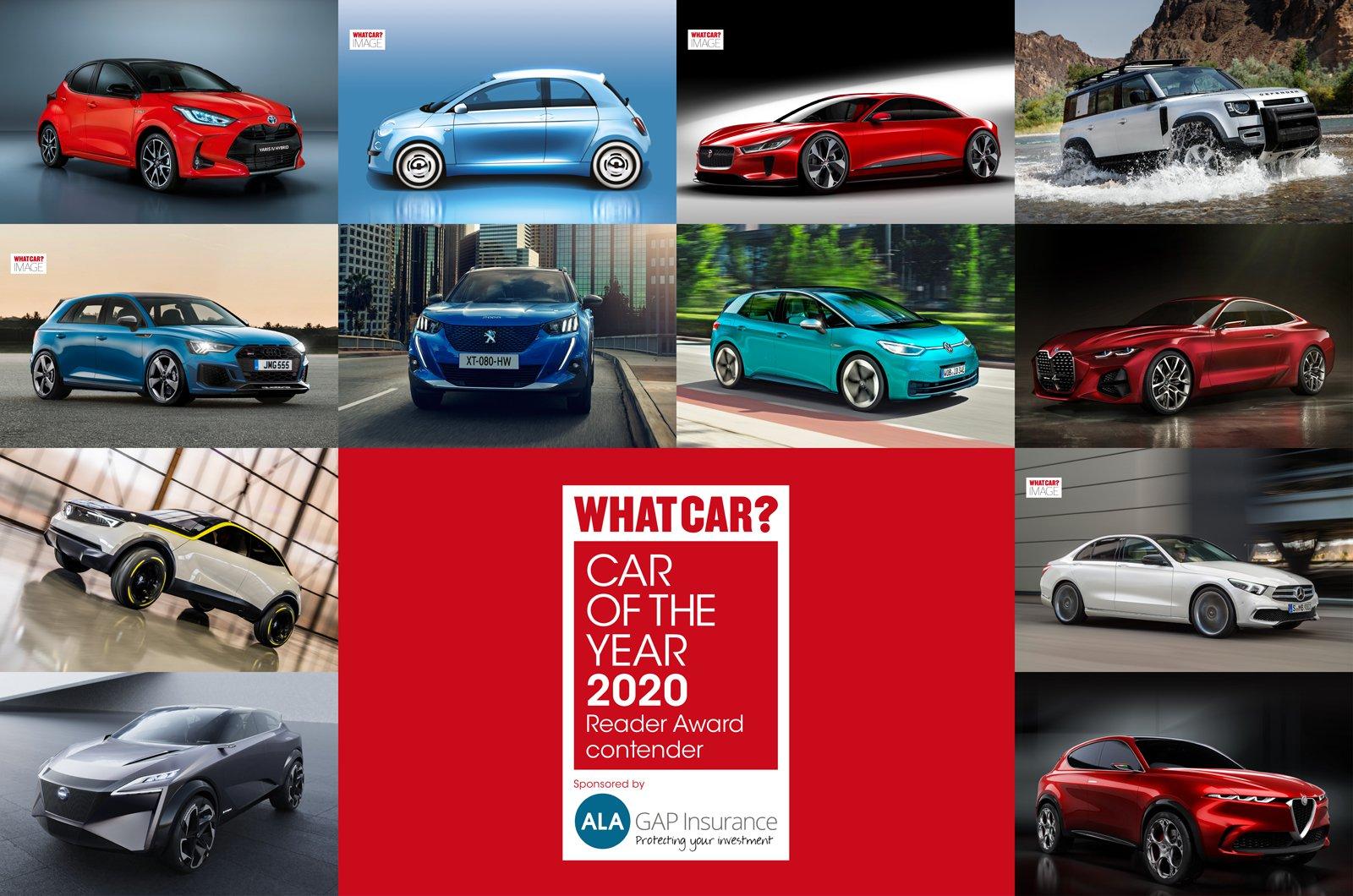 2020 What Car? Reader Award contenders
