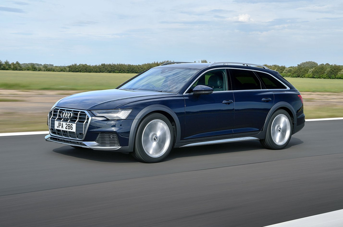 Audi A6 Allroad front and side