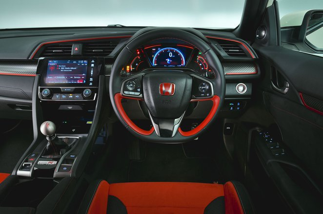 Honda Civic Type R - interior