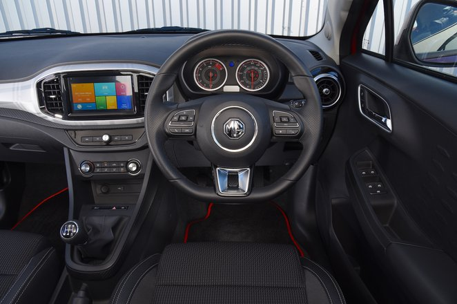 MG 3 - interior