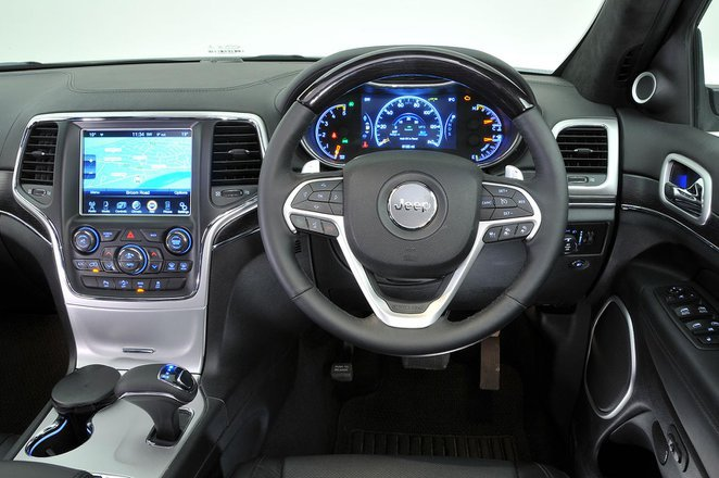 Jeep Grand Cherokee - interior