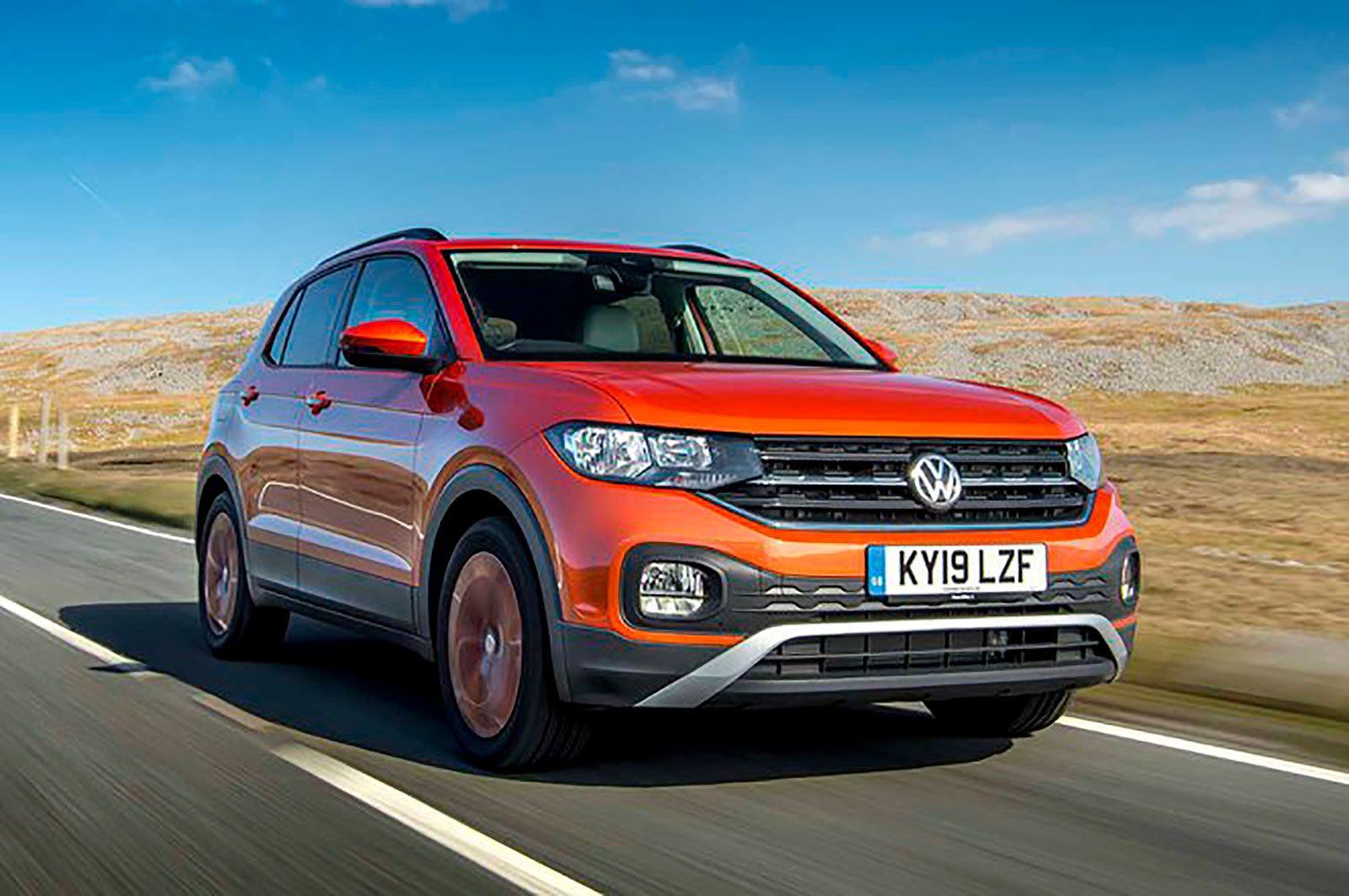 Volkswagen T-Cross front three quarters