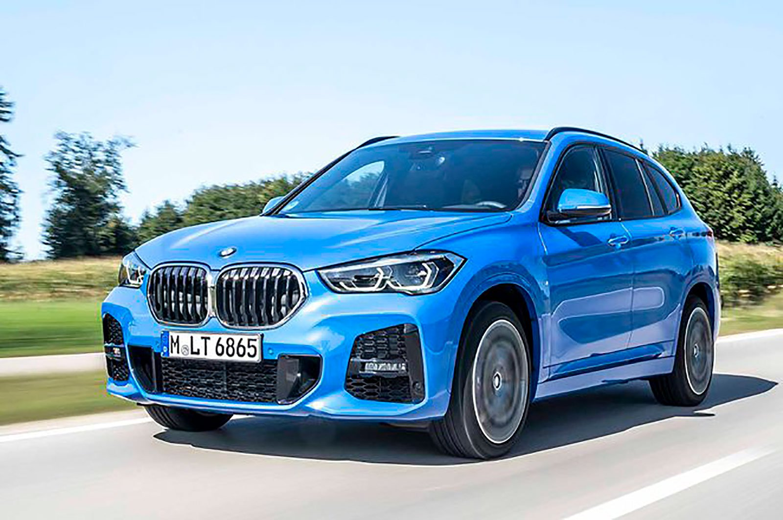 BMW X1 front three quarters