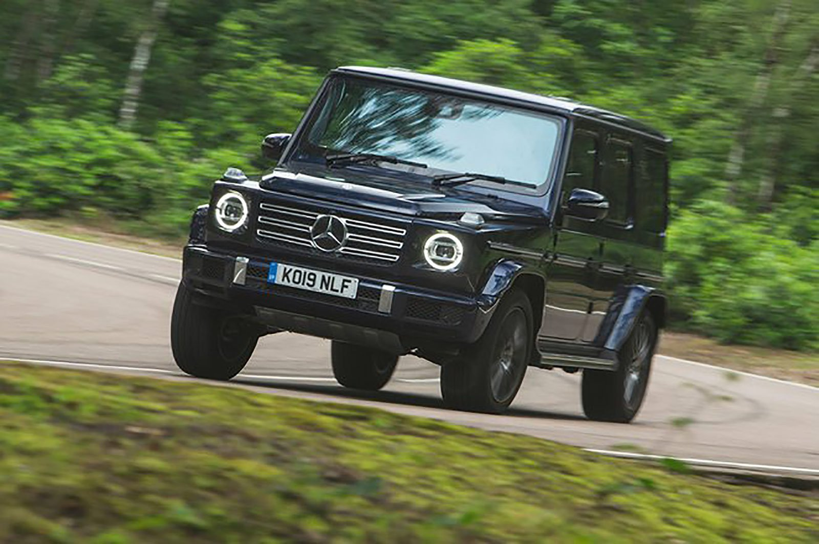 Mercedes-Benz G-Class front three quarters