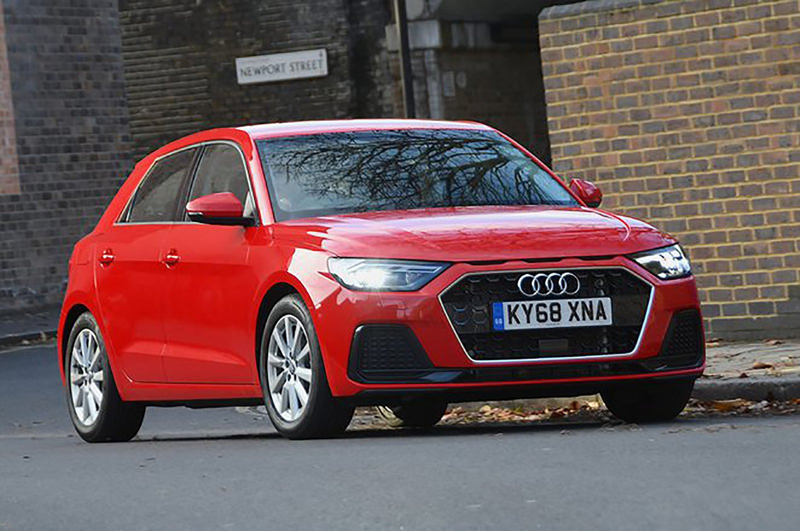 Audi A1 front three quarters