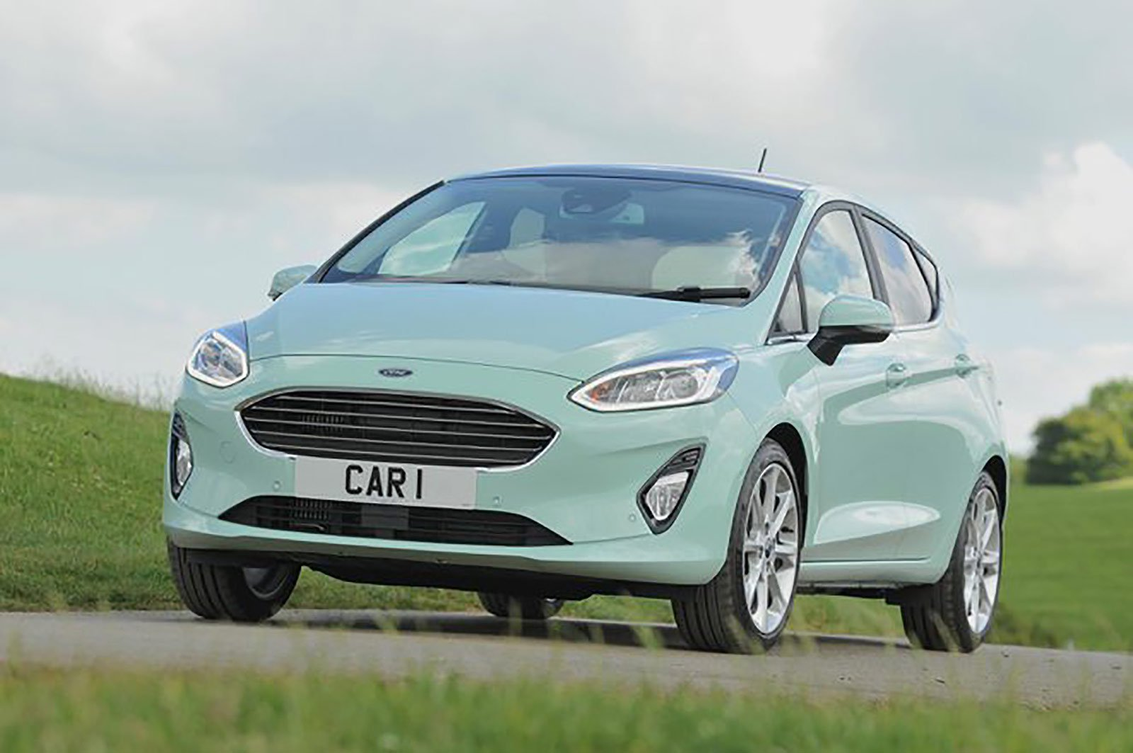 Ford Fiesta front three quarters