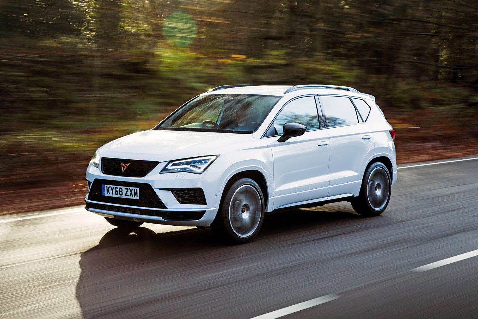 Cupra Ateca front and side