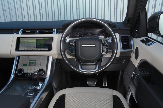 Range Rover Sport - interior