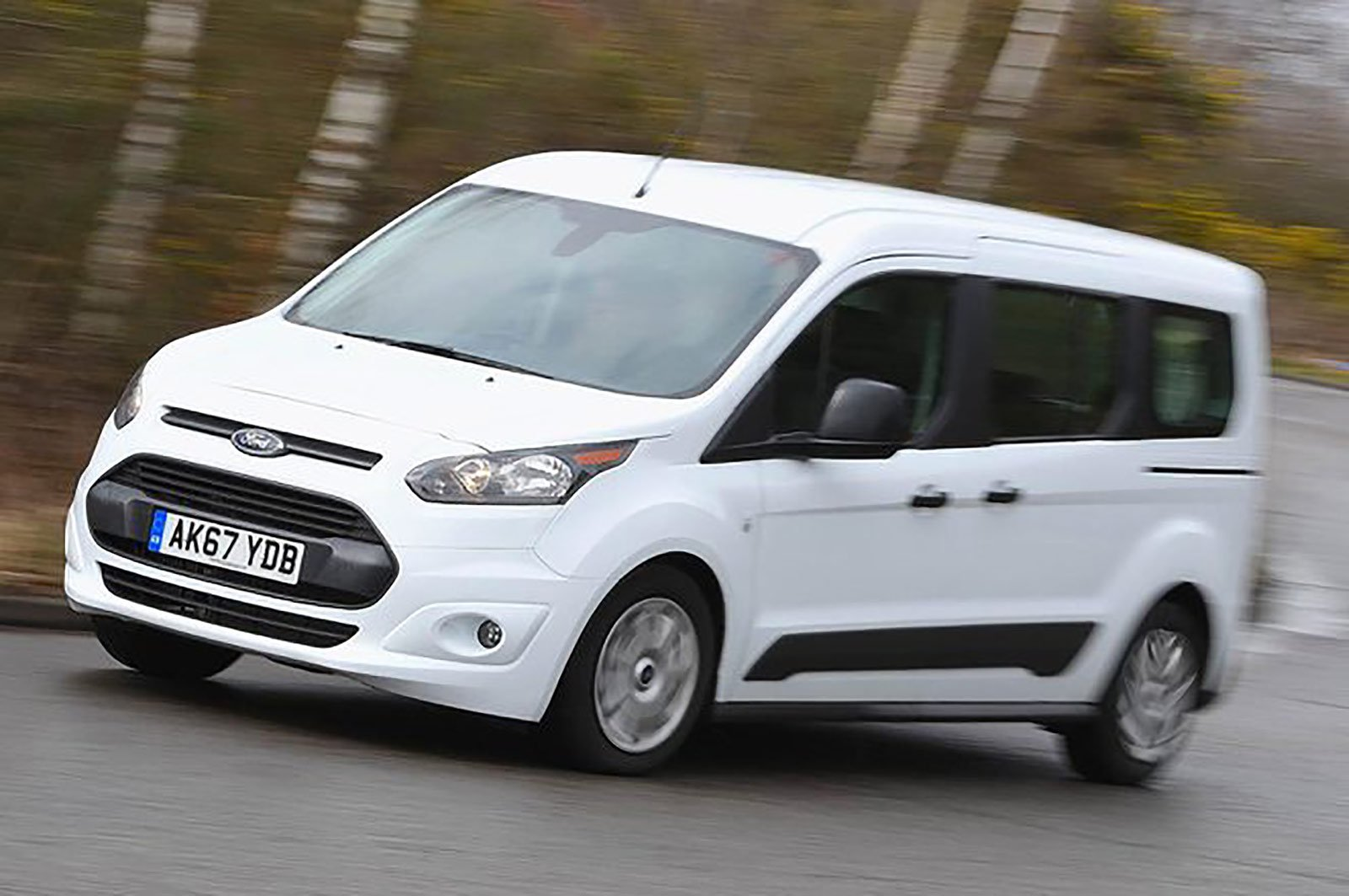 Ford Tourneo front and side