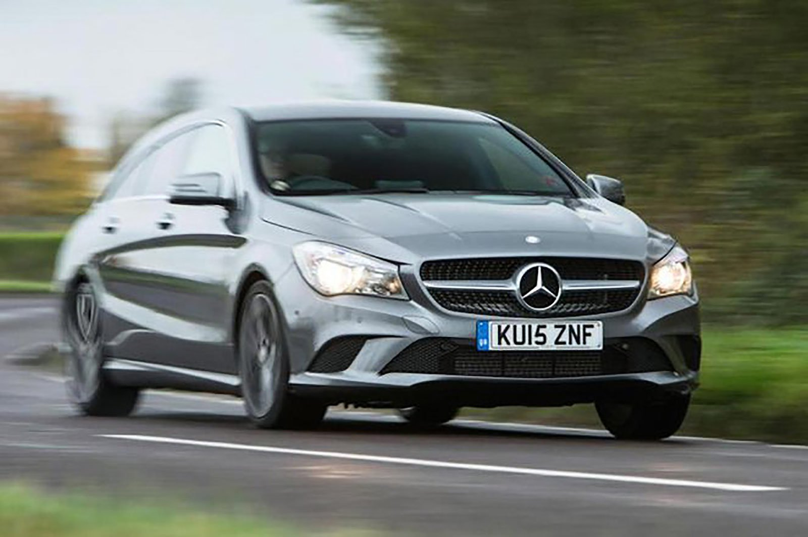Mercedes CLA Shooting Brake front three quarters
