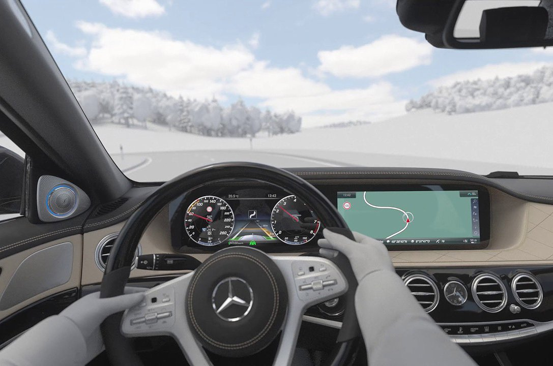 Mercedes-Benz - Route-Based Speed Adjustment