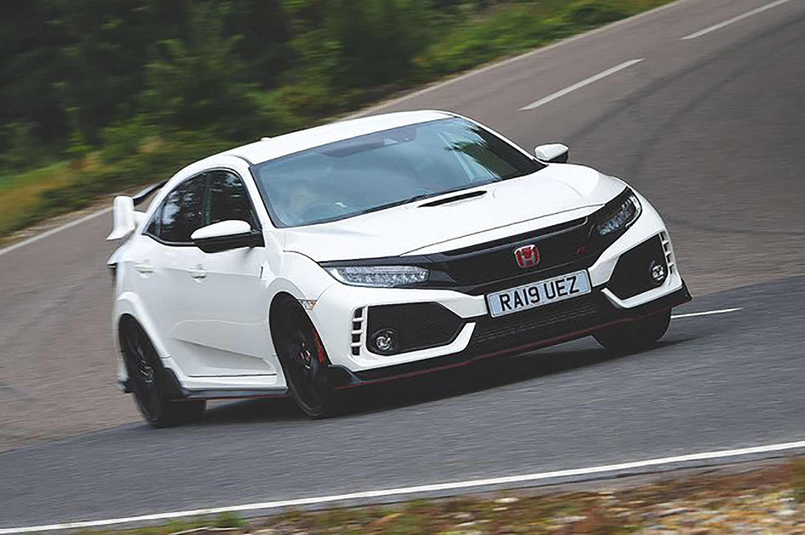 Honda Civic Type R front three quarters