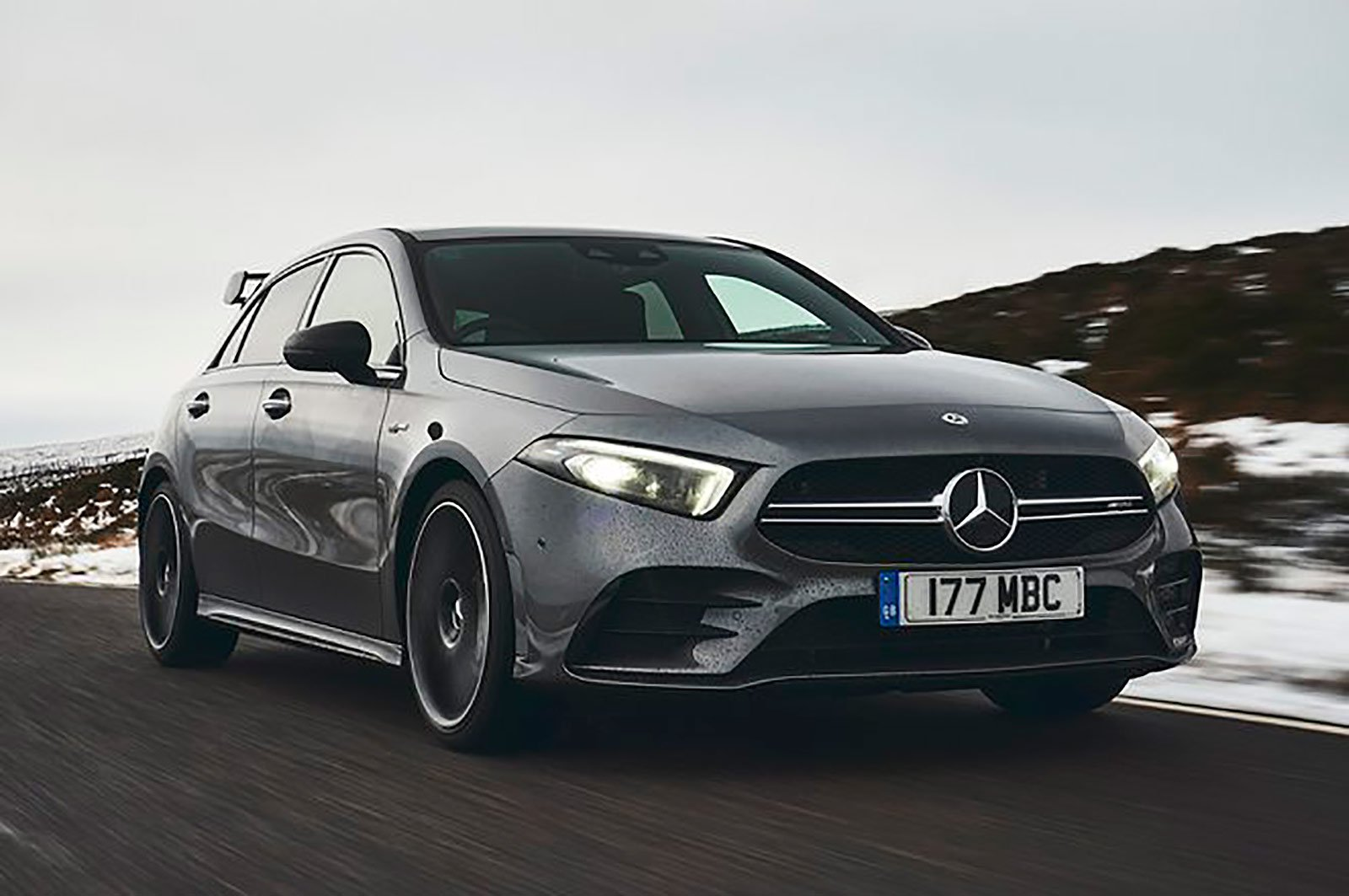 Mercedes A35 AMG front