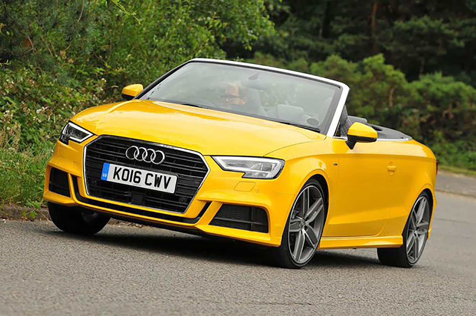 Audi A3 Cabriolet front three quarters