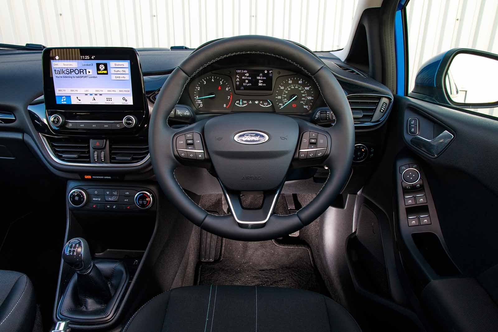 Ford Fiesta 2019 RHD dashboard
