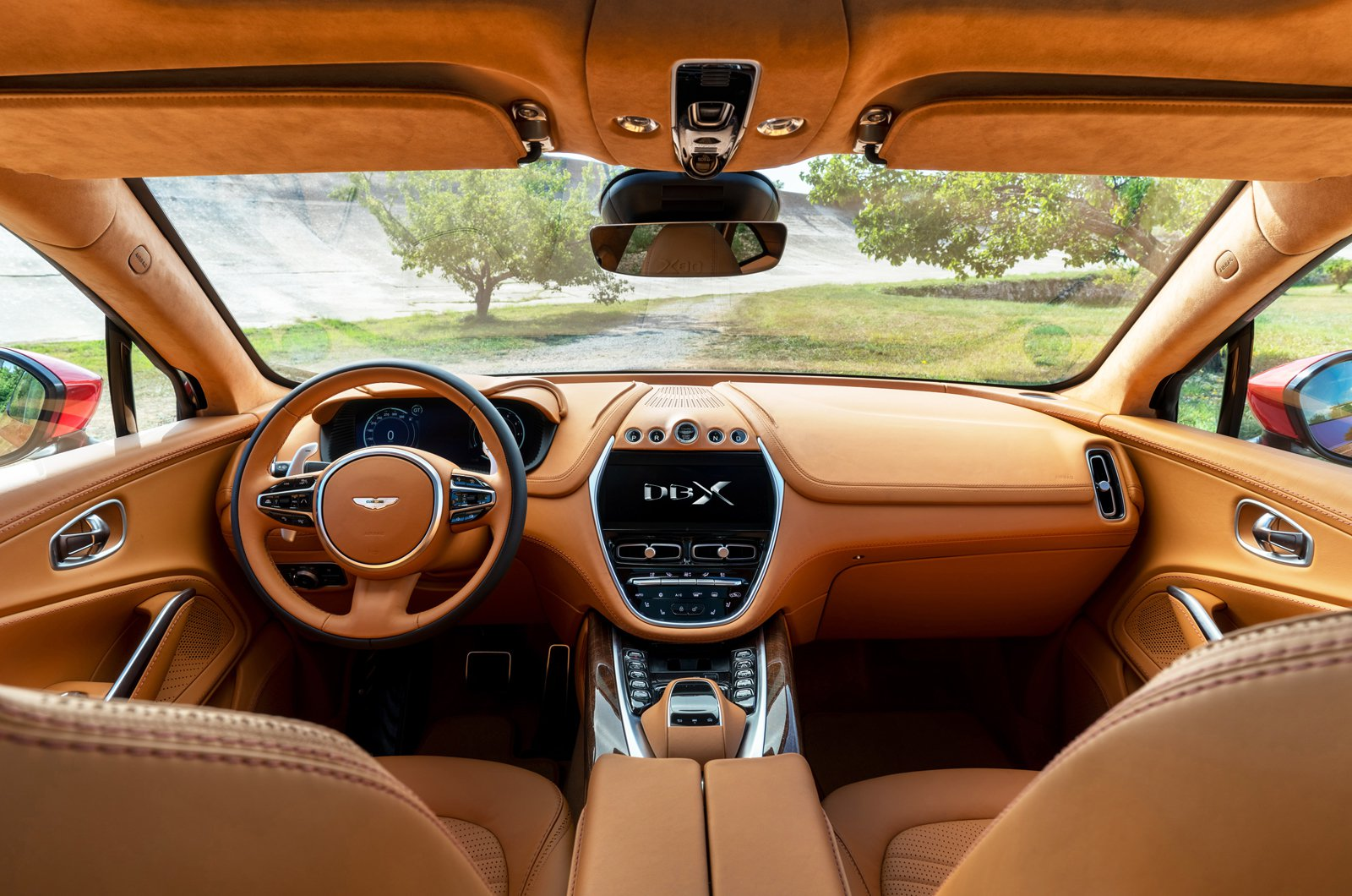 Aston Martin DBX dashboard