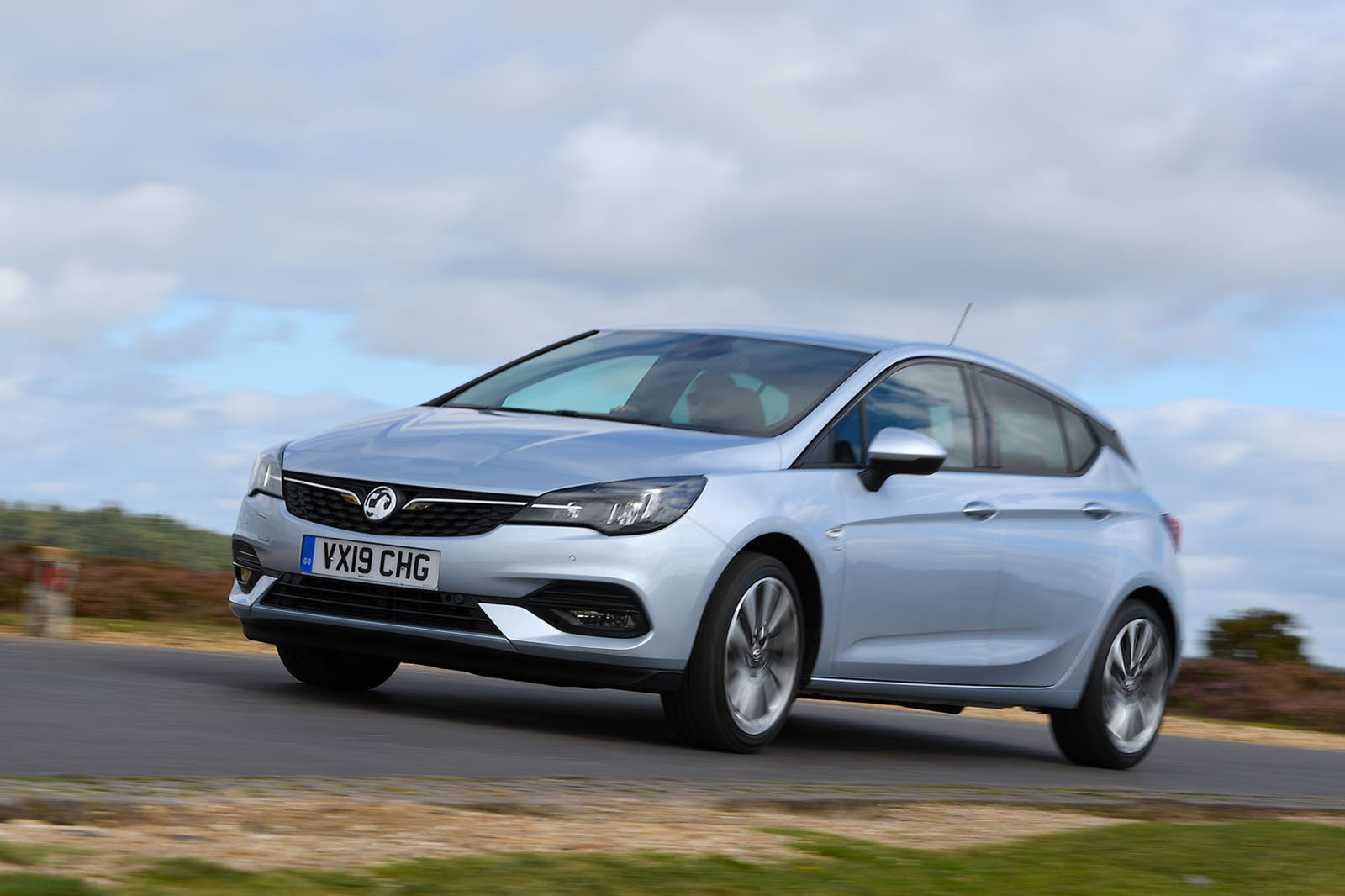 Vauxhall Astra driving