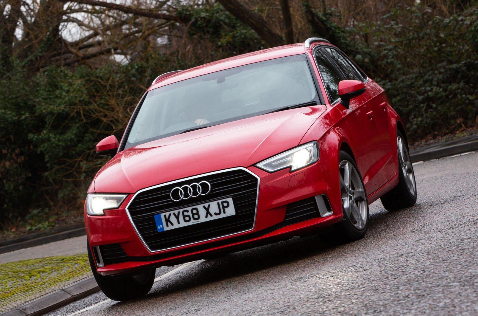 Audi A3 Sportback front cornering