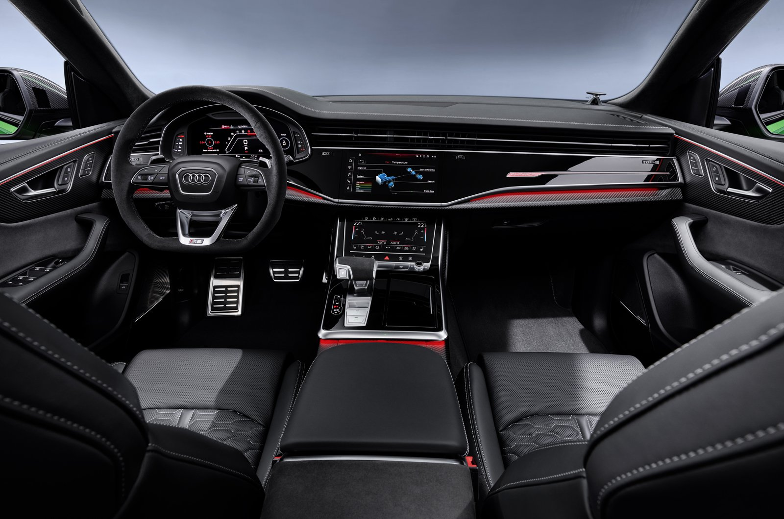 Audi RS Q8 dashboard