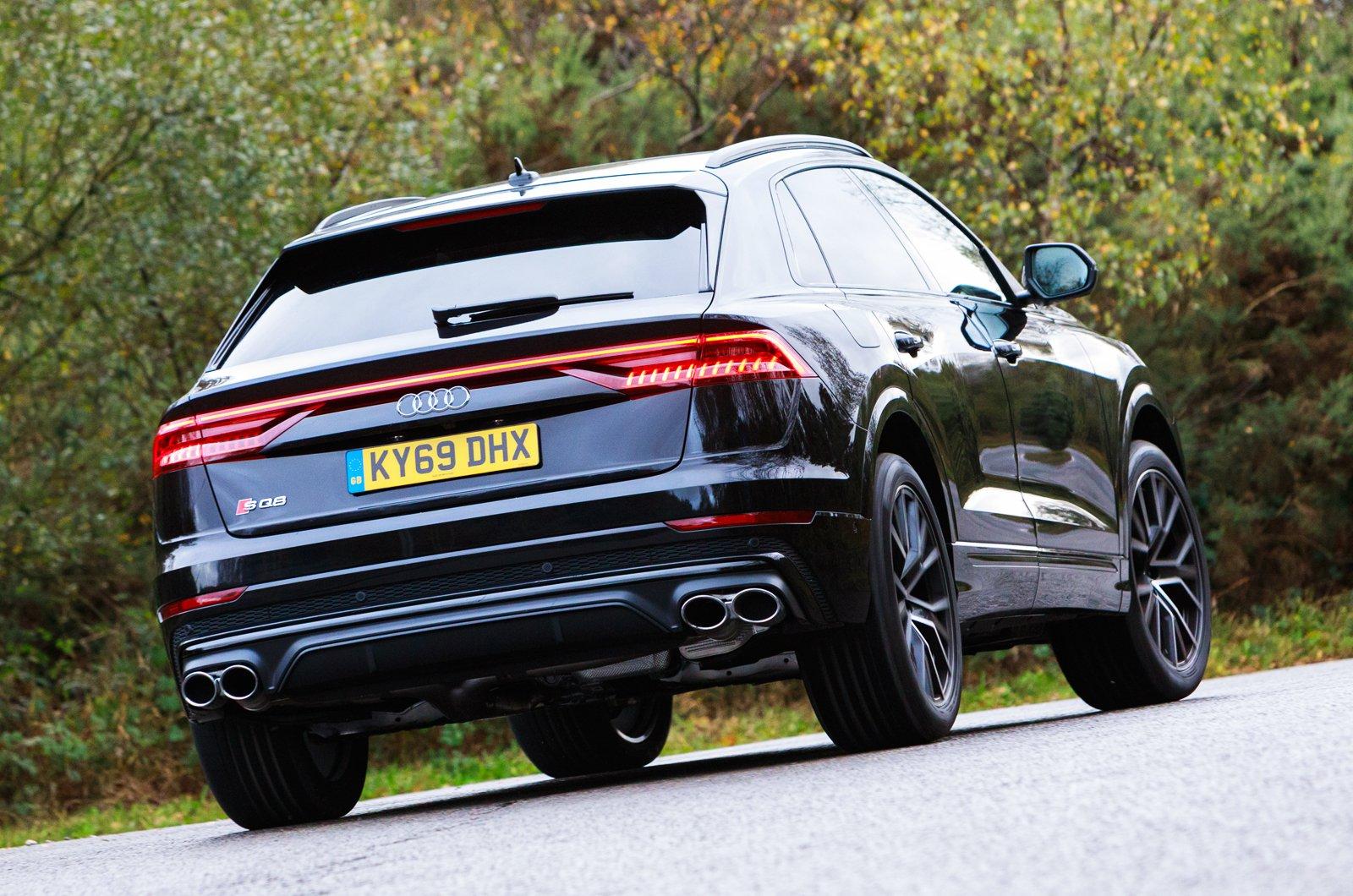 Audi SQ8 rear