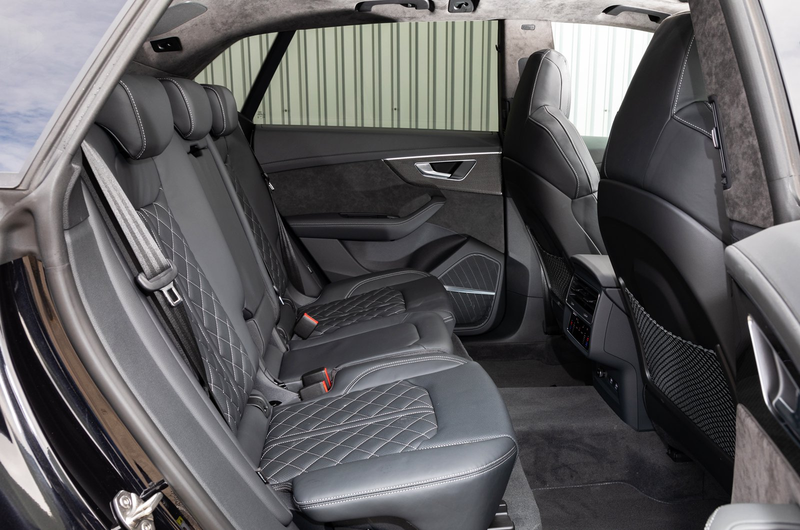 Audi SQ8 rear seats