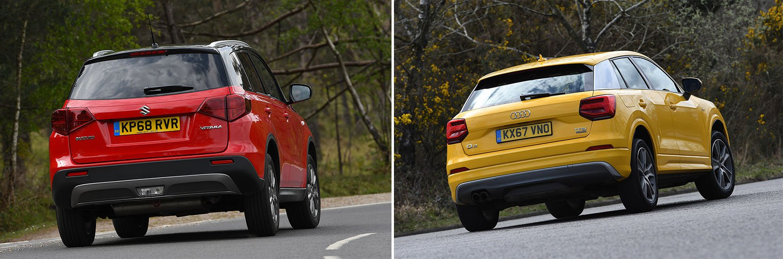 New Suzuki Vitara vs used Audi Q2: which is best?