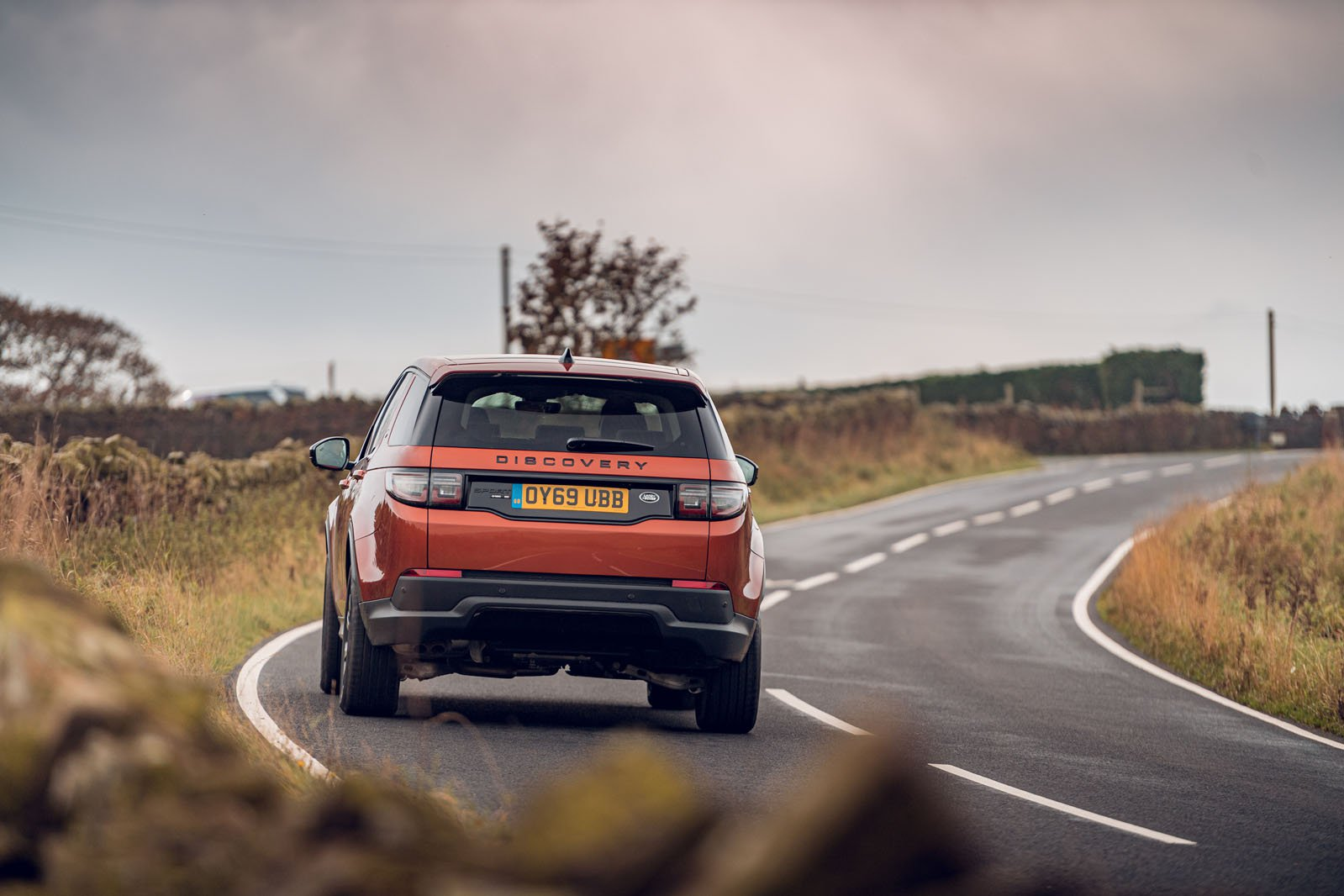 Land Rover Discovery Sport 2019 rear cornering