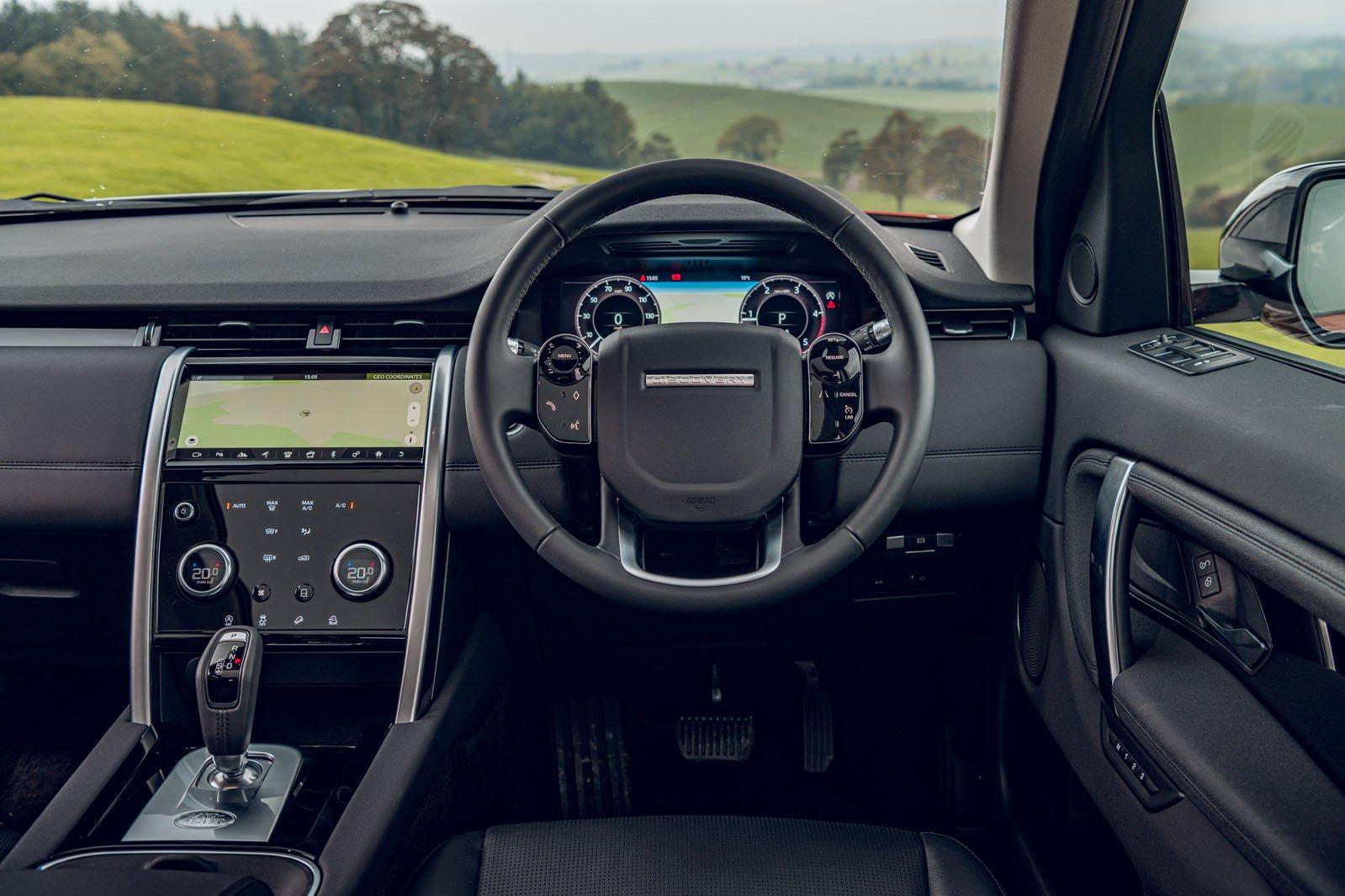 Land Rover Discovery Sport 2019 RHD dashboard
