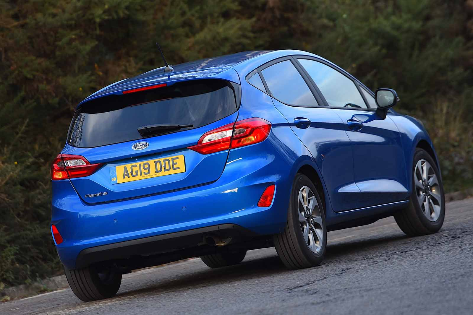Ford Fiesta 2019 rear tracking