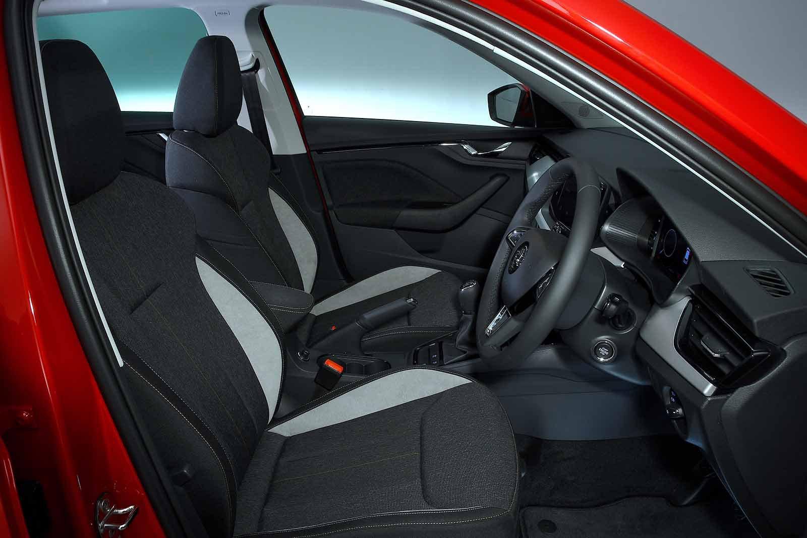 Skoda Kamiq 2019 RHD front seats