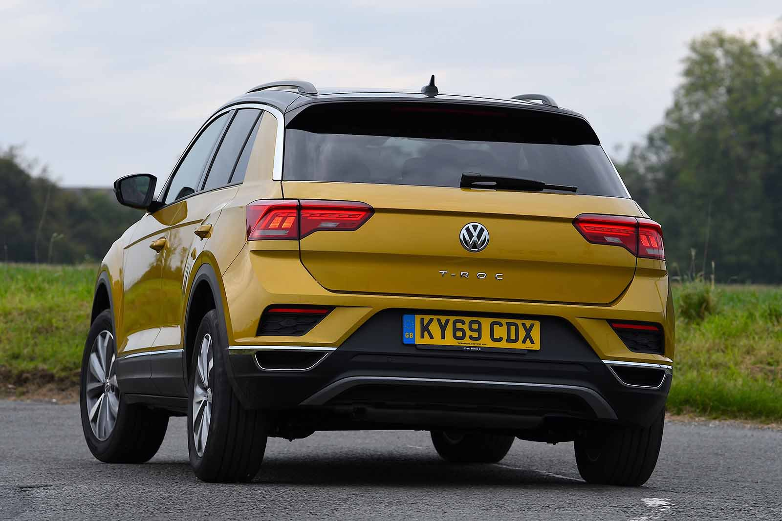 Volkswagen T-Roc 2021 RHD rear left cornering