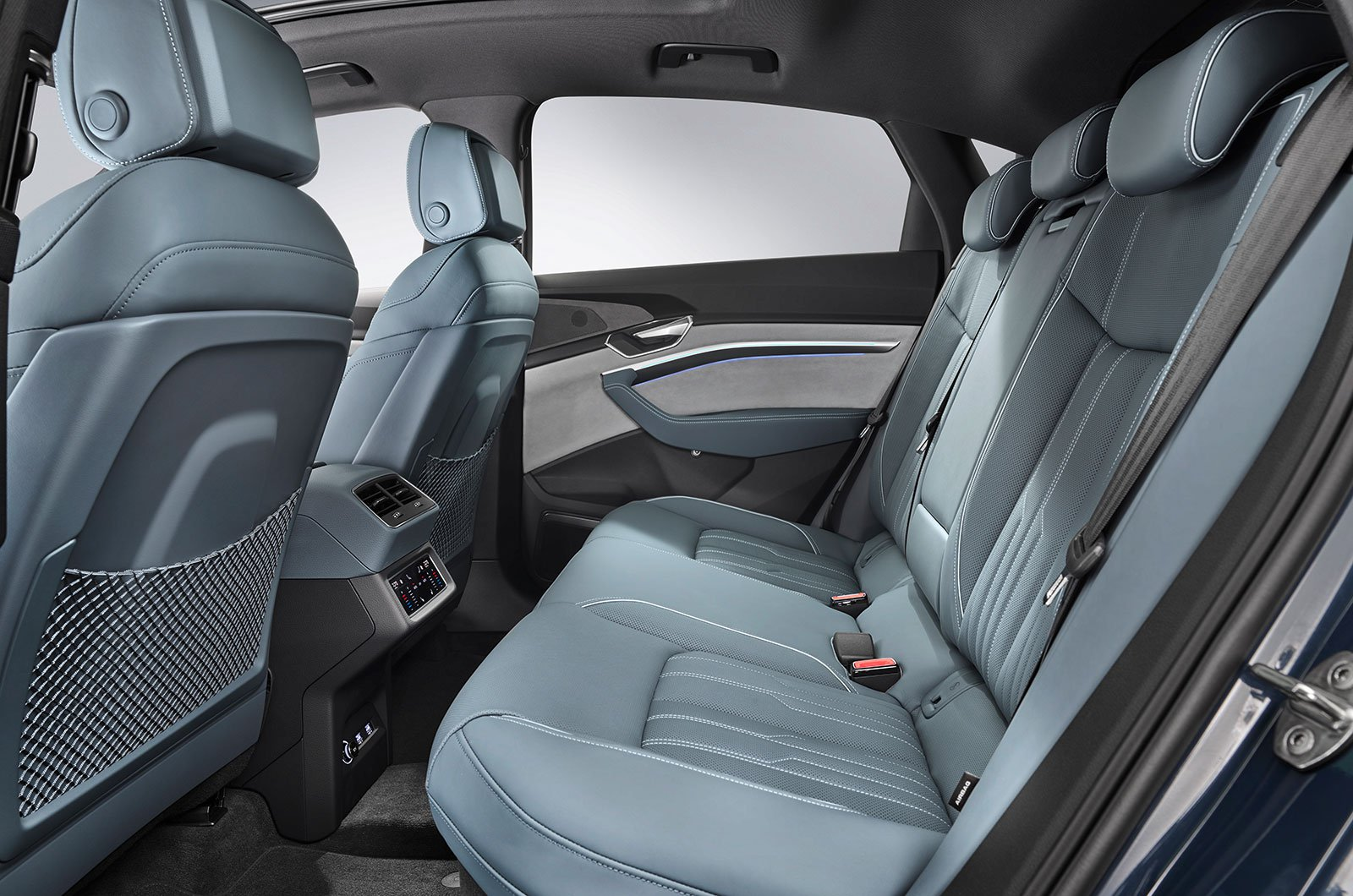 Audi E-tron Sportback rear seats