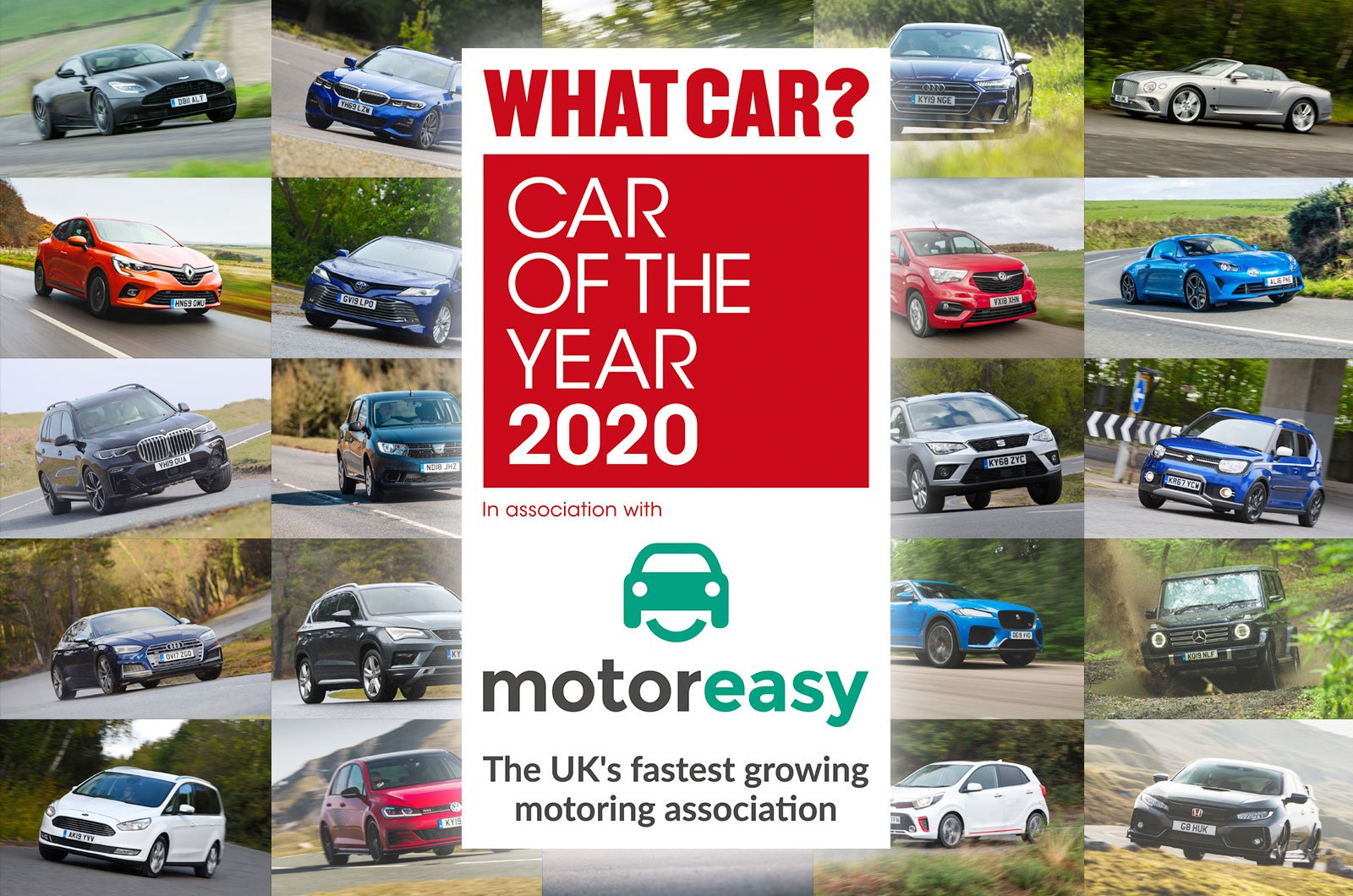 What Car? Car of the Year Awards 2020 long list