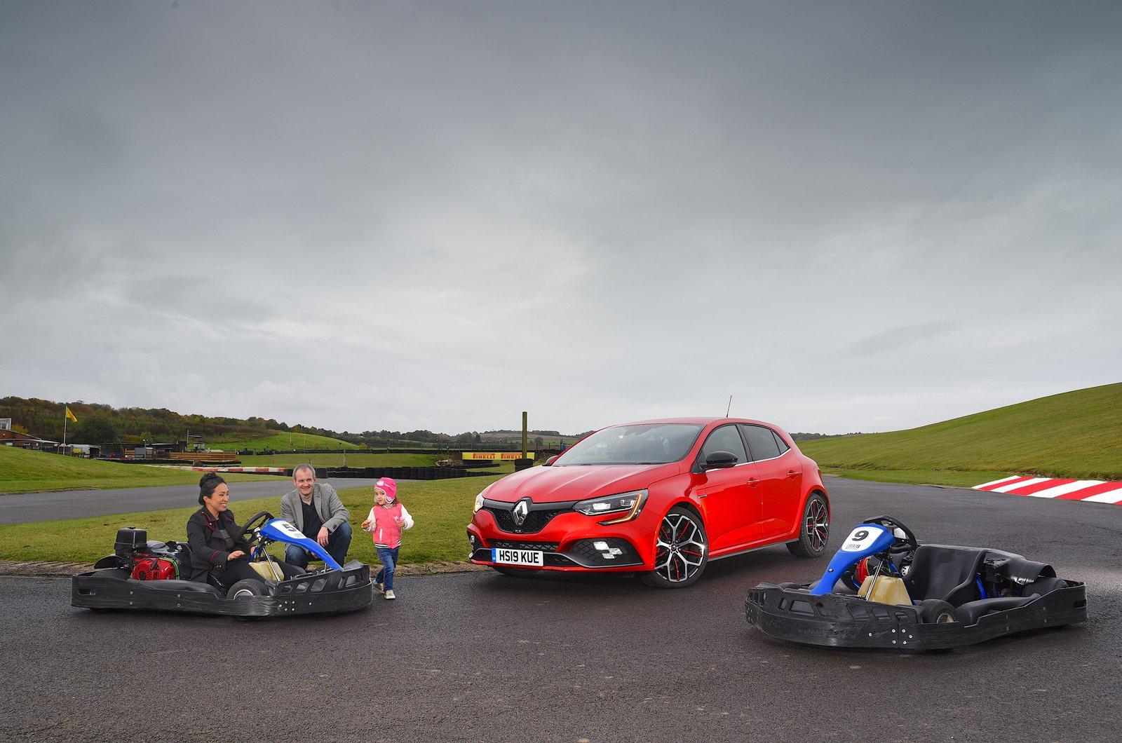 LT Renault Megane RS at go-kart track