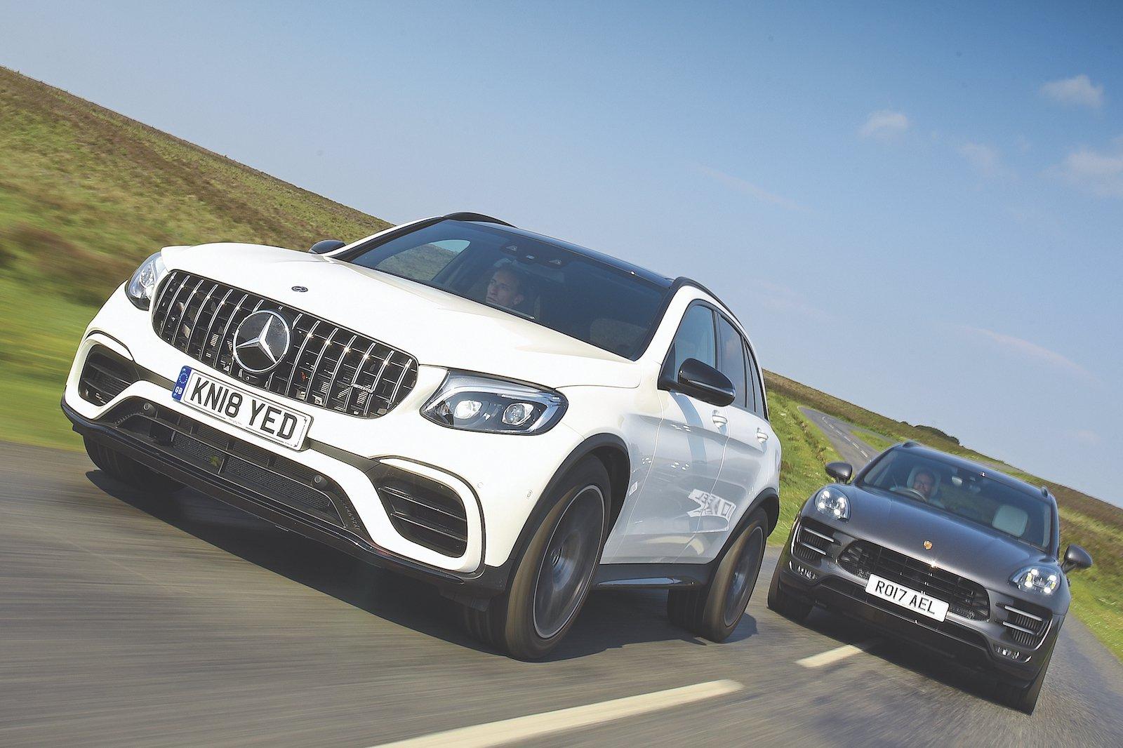 Used test: Mercedes-AMG GLC vs Porsche Macan