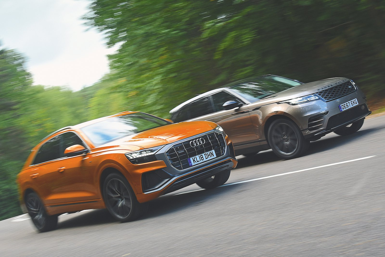 Used test: Audi Q8 vs Range Rover Velar