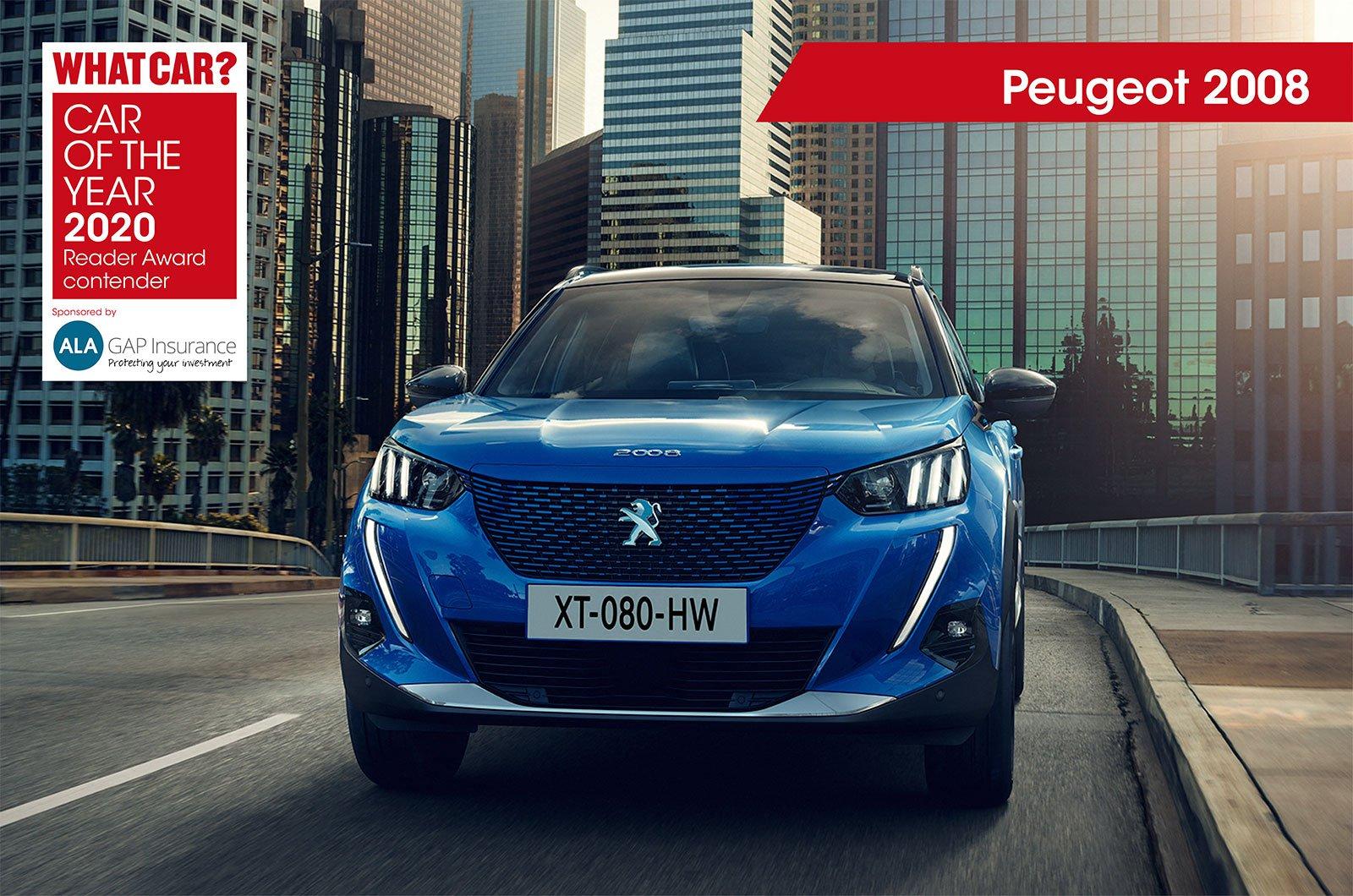 Peugeot 2008 Reader Award