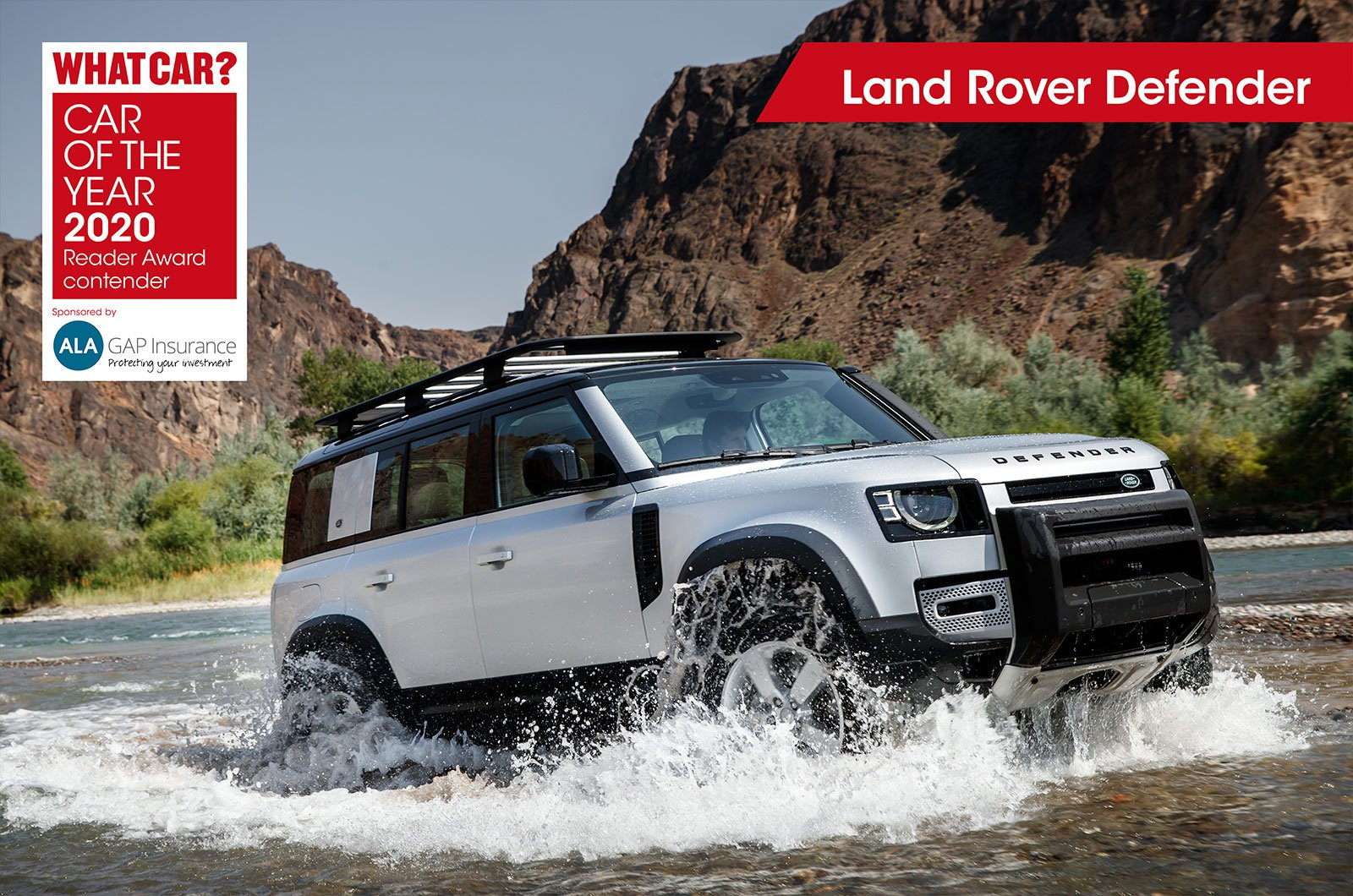 Land Rover Defender Reader Award