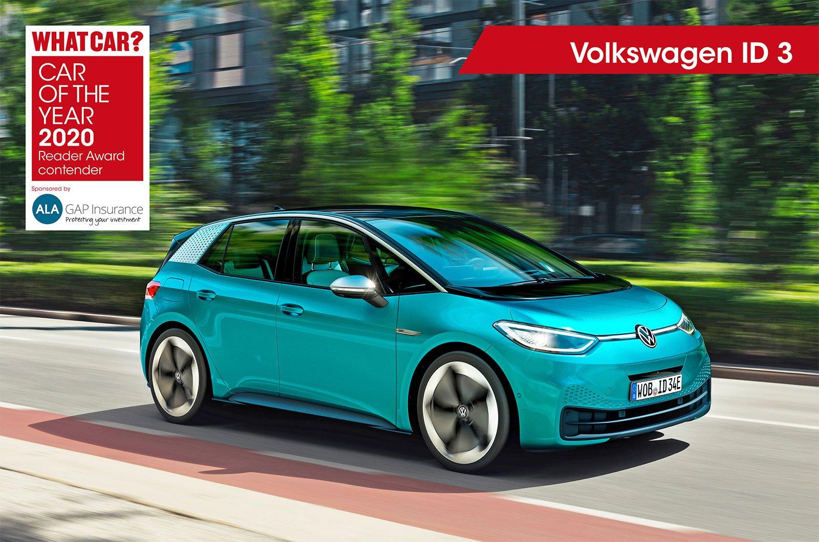 Volkswagen ID 3 Reader Award